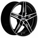 Llanta Fondmetal 8100 Glossy black machined
