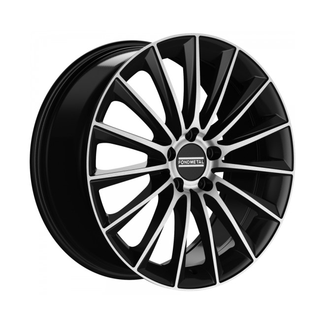Llanta Fondmetal AIDON Glossy black machined