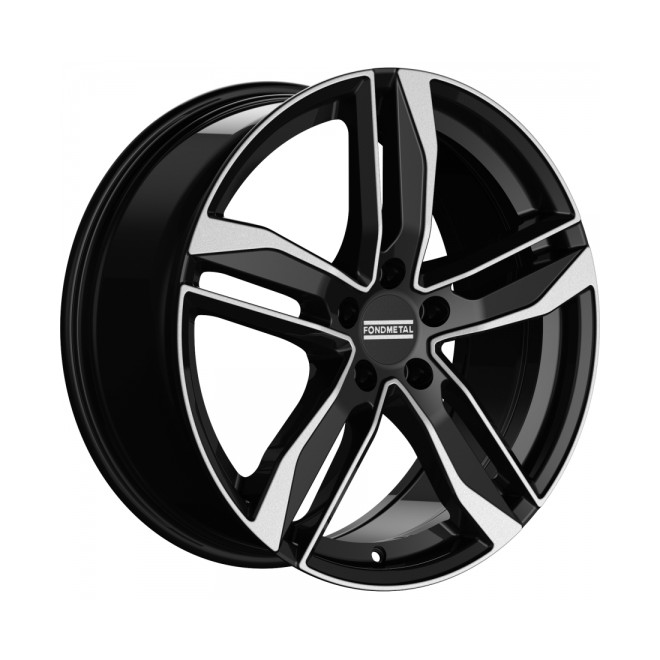 Llanta Fondmetal HEXIS Glossy black machined