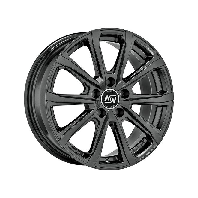 Llanta MSW 79 gloss dark grey