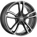 Llanta MSW 73 dark grey polished