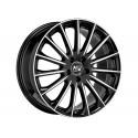 LLANTA MSW 30 Gloss black full polished