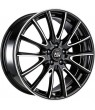 LLANTA MSW 86 GLOSS BLACK FULL POLISHED