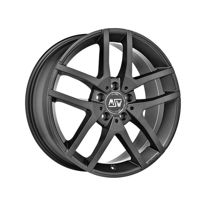 Llanta MSW 28 matt dark grey