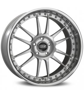 LLANTA OZ SUPERLEGGERA III FULL SILVER 30 GRADE