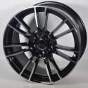 Llanta Elit wheels Stargace - Black Polished