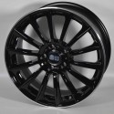Llanta Elite wheels Wild beauty - Black polished ring