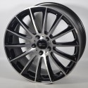 Llantas Elite wheels Wild beauty Black polished