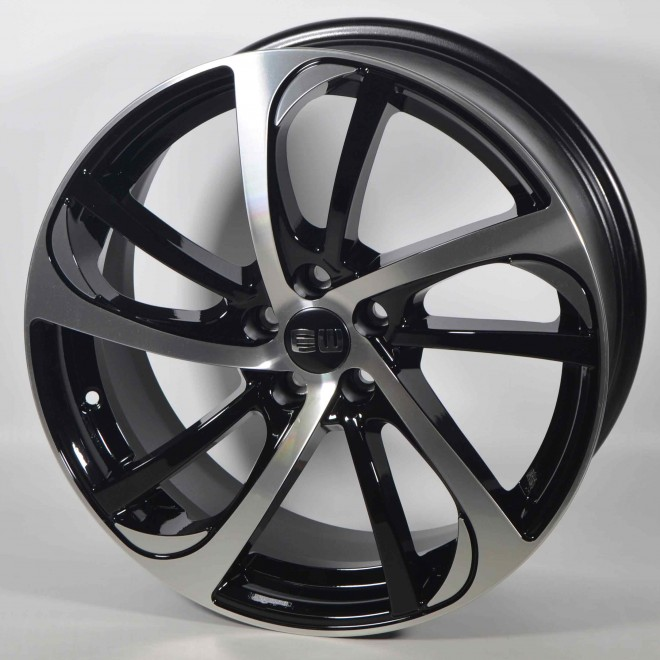 Llantas Elite wheels Storm Black polished