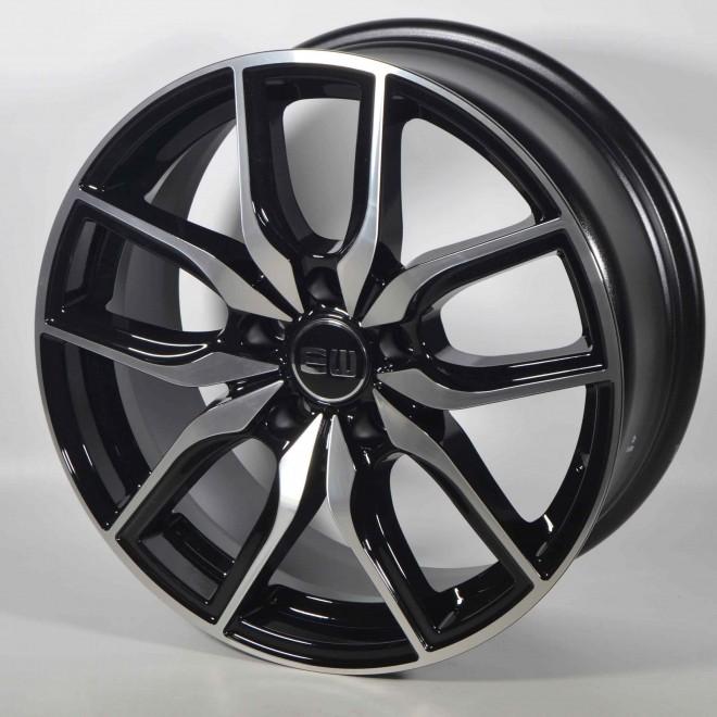Llantas Elit wheels Storm Black polished