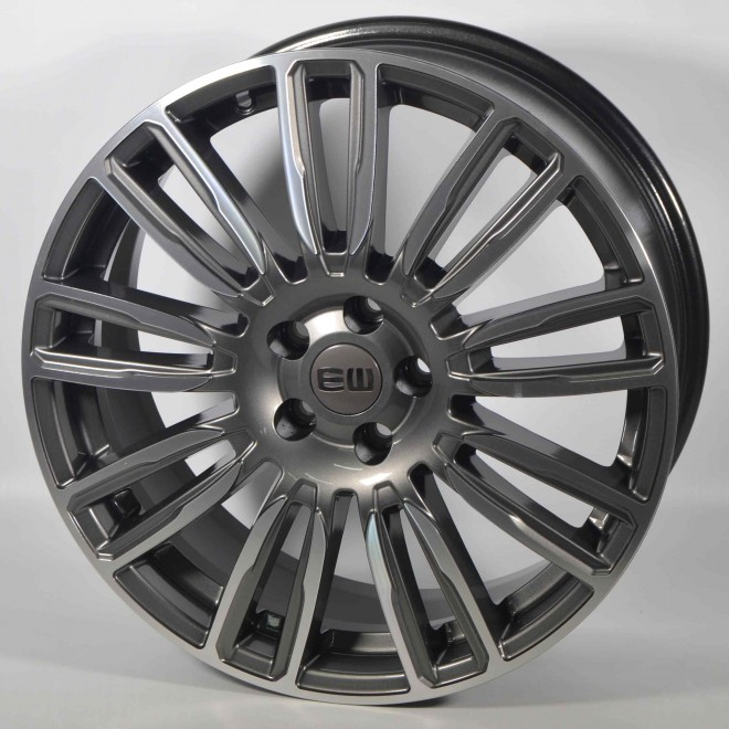 Llanta Elit wheels Mirage Anthracite diamond