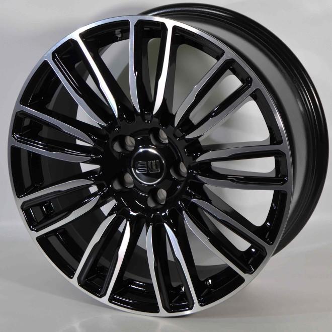 Llanta Elit wheels Mirage Black polished
