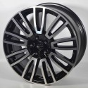 Llanta Elit wheels Vanity black polished