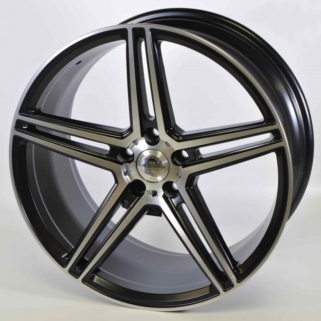 Llantas Forzza wheels Bosan Black polished