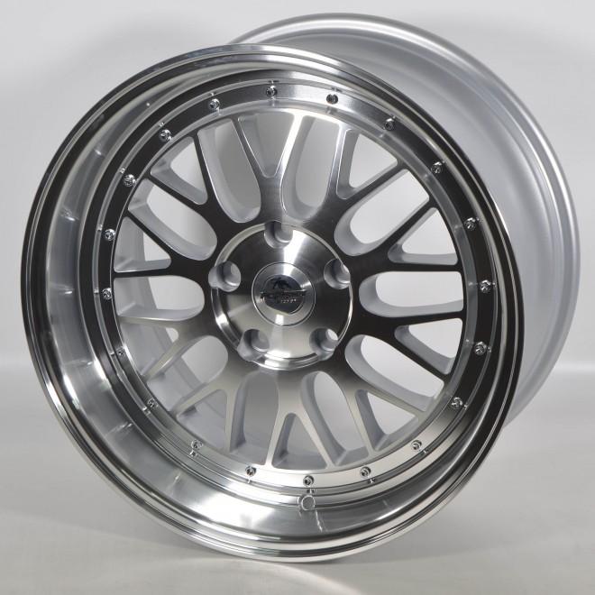 Llantas Forzza wheels Spot Silver polished