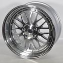 Llantas Forzza wheels Spot Silver polished lip