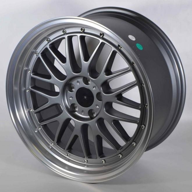 Llantas Forzza wheels Brave Anthracite polished lip
