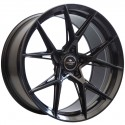 Llanta Forzza wheels Oregon Black magic