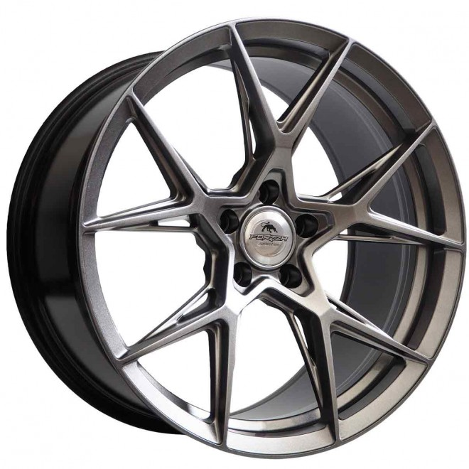 Llantas Forzza wheels Oregon Hyper black