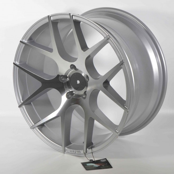 Llantas Forzza wheels Ambra Silver diamond