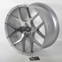 Llanta Forzza wheels Ambra Silver diamond