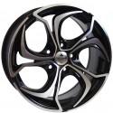 Llanta Forzza wheels Aktia Black polished