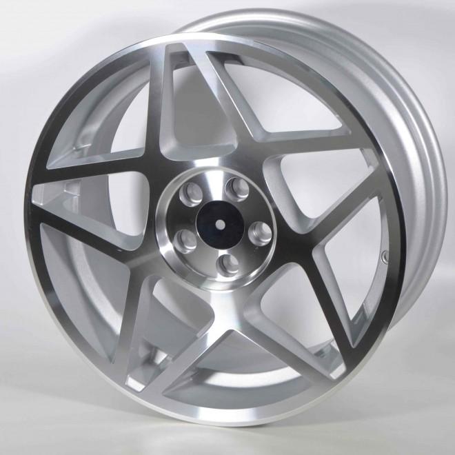 Llantas Forzza wheels Cosmo Silver diamond