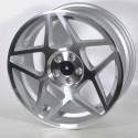 Llanta Forzza wheels Cosmo Silver diamond