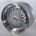 Llanta Forzza wheels Malm Silver diamond