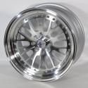 Llanta Forzza wheels Rk22 Silver diamond