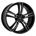 Llanta Lenso Eurostyle 6 black polished