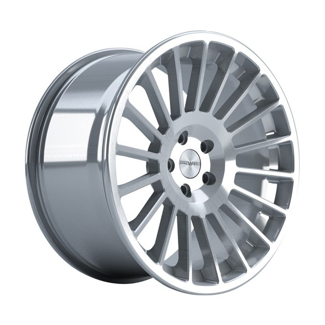 Llanta SpacWheels Rocsy Plata brillo - diamantado