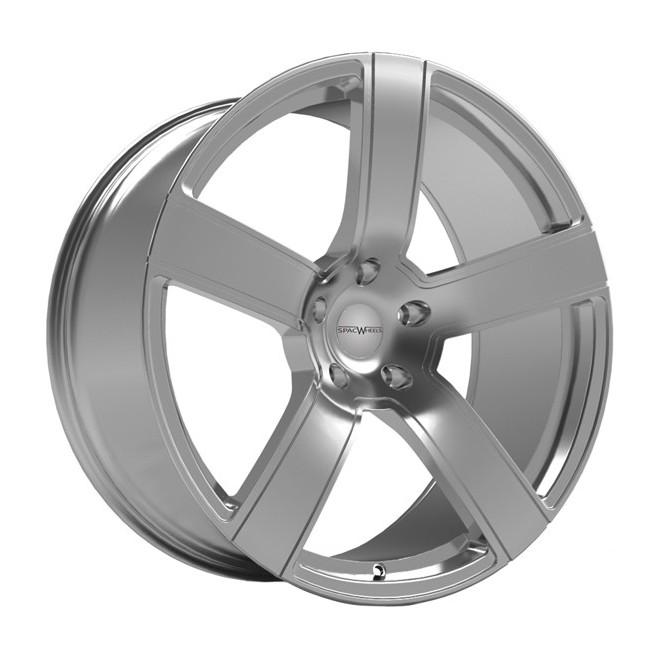 Llanta SpacWheels Verona Chrome silver