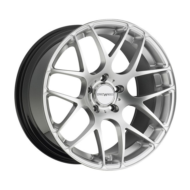 Llanta SpacWheels Visual Chrome silver