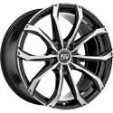 Llanta MSW 48 Black full polished