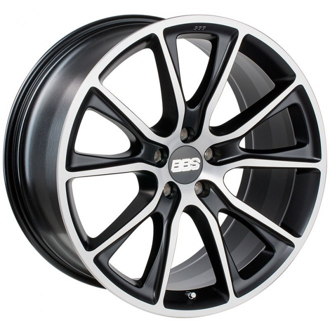 LLANTAS BBS SV SATIN BLACK DIAMOND CUT 30 GRADE