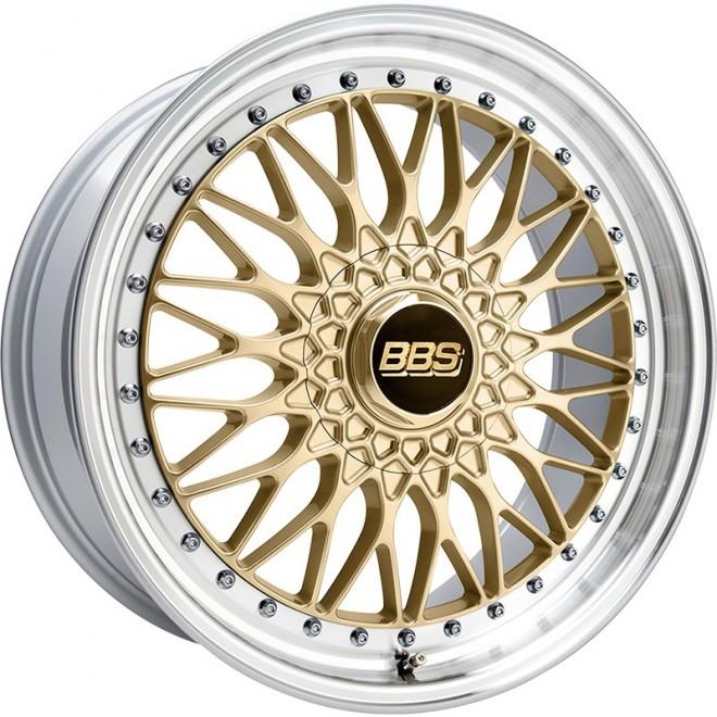 LLANTA BBS SUPER RS GOLD 30 GRADE