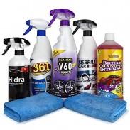 Productos de limpieza para coche
